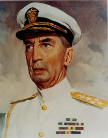 Jefes de Estado Mayor Combinado. Almirante William D. Leahy